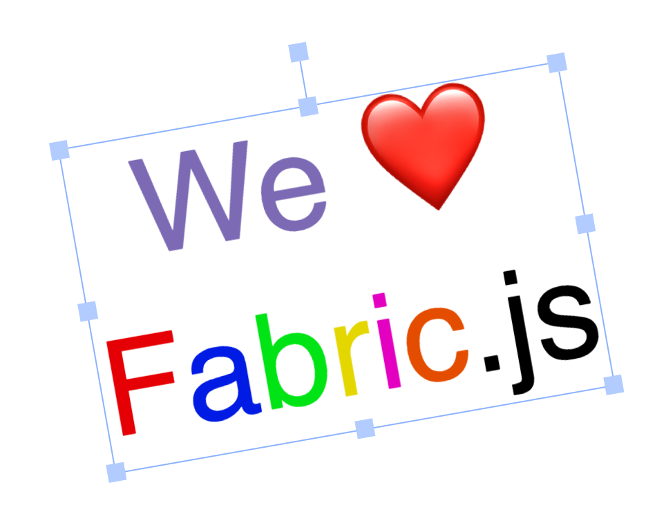 Fabric js  release 2 0 0 highlights  — Fabric js Javascript